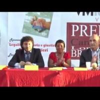 """(Italiano) Fabio Amendolara presenta a """"Vivilauria2013"""" il libro su Ottavia De Luise. Tributati dei riconoscimenti dedicati alla memoria di Pino Forestieri"""