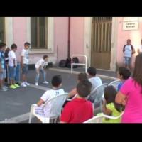 """(Italiano) Il mago Carlo Fox mattatore dei bambini a """"Vivilauria 2013"""""""