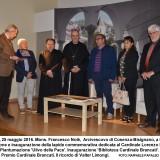 Il Premio Cardinale Brancati 2016 alla famiglia di Valter Limongi