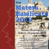 Vivi Matera…anche a Lauria
