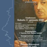 Partono le iniziative legate al maestro Mariano Lanziani