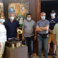 Gli amici del Csm e della 'Giostra' di Lauria della dottoressa Guarino hanno visitato Palazzo Marangoni