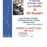 """""""La strada di De Gasperi"""""""